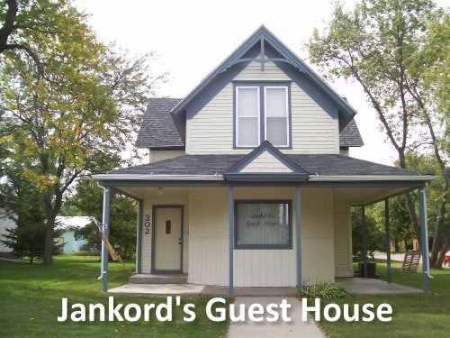 Jankord's Guest House Logo