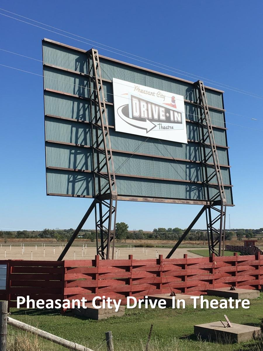 Pheasant City Drive In Theatre Logo